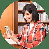 自宅勉強のイメージ